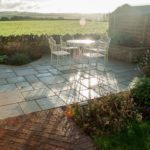 Limestone paving and a lovely view!