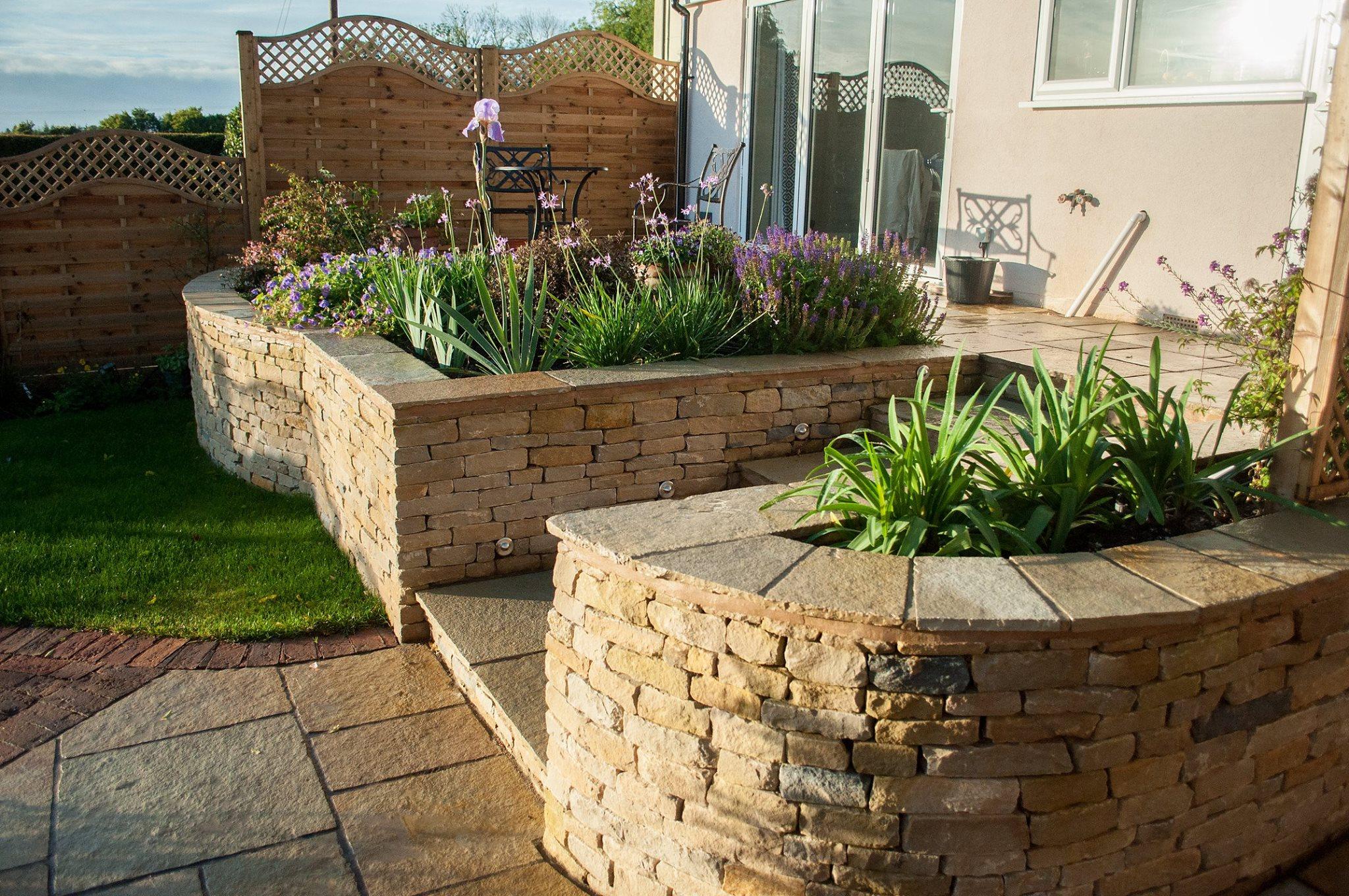 Dry Stone Walling George Stone Gardens Cheltenham