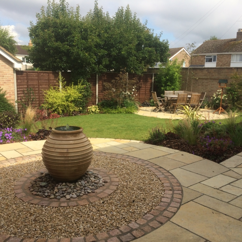 Completed Cheltenham Garden Design