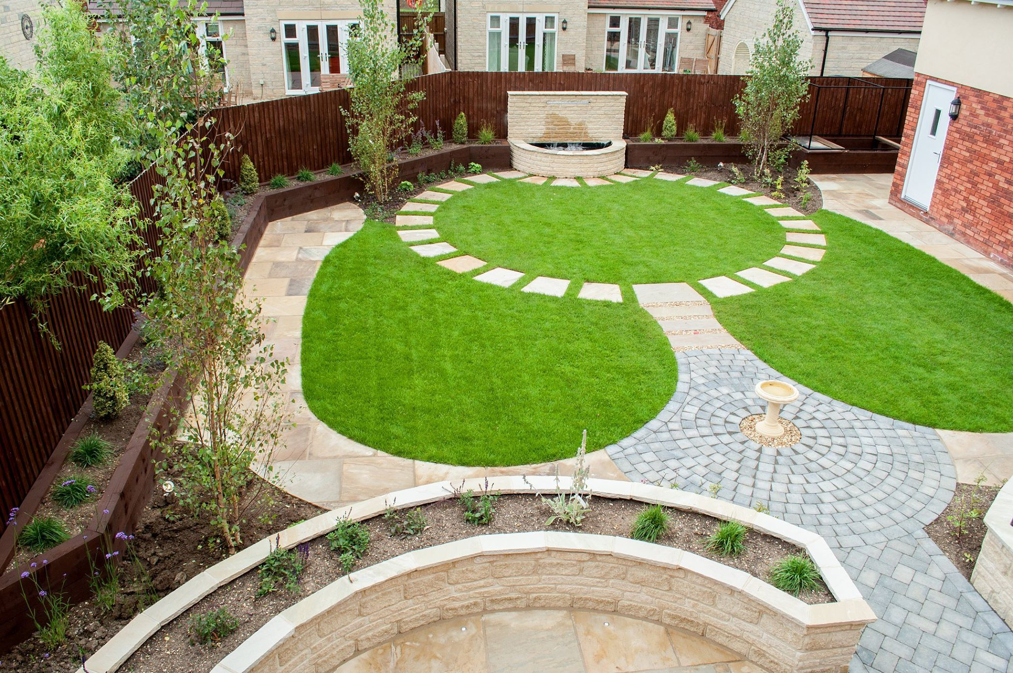 creative-round-paved-pathway