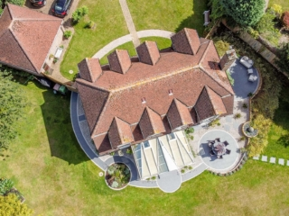 circular themed garden images